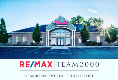 RE/MAX Team 2000 office photo and logo